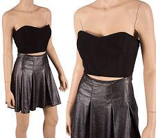 BCBGeneration BCBG Black Gray Strapless Mini Dress Retail $128 Size 0, 2