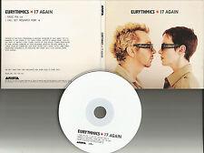 Annie Lennox EURYTHMICS 17 Again w/ RARE RADIO MIX PROMO DJ CD single 1999 USA