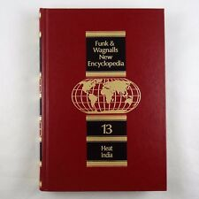 Funk & Wagnalls New Encyclopedia Volume 13, Heat - India