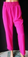 ZARA BASIC PANTALONE Pants TG.XL Colore fucsia