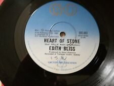 EDITH BLISS-HEART OF STONE.7'' SINGLE
