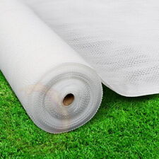 Instahut 3.66x30m 30 UV Shade Cloth Shadecloth Sail Garden Mesh Roll Outdoor WH