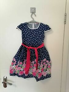 kids girls dress PRINCESS summer PARTY DRESS age 6-7