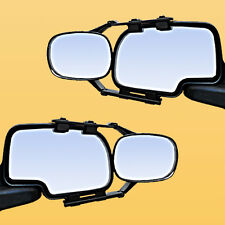2 CLIP-ON TOWING MIRRORS tow extension extend side rear view hauling extender d1