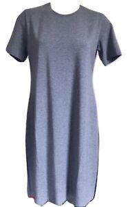Theory Cherry B2 Ranmire Knit T-Shirt Dress Size Medium MSRP: $190.00