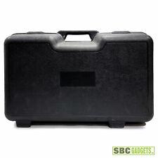 Hard Plastic Case Heavy Duty Carrying Case with Foam Insert, Black