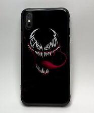 Venom Iphone X Tempered Glass Glow In The Dark Case.