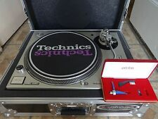 TECHNICS SL1200M3D DIRECT DRIVE TURNTABLE+NEW ORTOFON CONCORDE & ODDESEY CASE