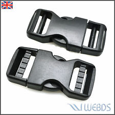 Dual Adjust Side Release Buckle Strap For Backpack Camping 25mm 30mm 38mm 50mm