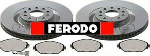 FERODO OE VW VOLKSWAGEN GOLF MK7 GTI / R / 4 MOTION FRONT DISCS AND PADS 340MM