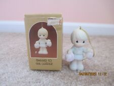 Precious Moments 1988 Ornament Cheers To The Leader 113999