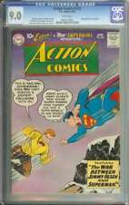 ACTION COMICS #253 CGC 9.0 WHITE PAGES // 2ND APPEARANCE SUPERGIRL