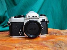 fotocamera NIKON FE solo corpo