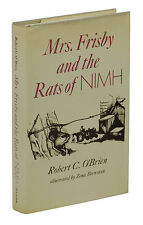 Mrs. Frisby and the Rats of Nimh ~ ROBERT C. O'BRIEN ~ First Edition ~ 1st 1971