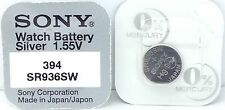 SONY 394 V394 SR936SW D394 625 280-17 sb-a4 SR936SW Batteria Orologio
