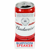 Budweiser Portable Wireless Stereo  Can Speaker with Bluetooth, Red