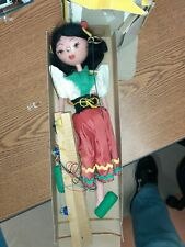 New Vintage Pelham Puppets Marionette Puppet - GYPSY