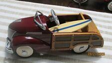 Hallmark Kiddie Car Classics 1939 Ford Station Wagon W/ Surf Board 1996 Garton