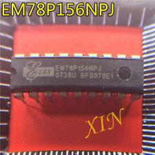 10pcs  EM78P156NPJ DIP-18 8-BIT NEW CONTROLLER IC