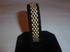 14KT YELLOW GOLD Link Chain Bracelet - MILO Italy -  16 Grams