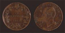 5 CENTESIMI 1862 N NAPOLI - VITTORIO EMANUELE II