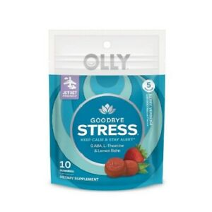 Olly Goodbye Stress Gummies - Berry Verbena