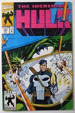 The Incredible Hulk #395 (Jul 1992, Marvel) (C5449) 1st Series vs. Punisher