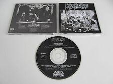 MASACRE Reqviem CD 1991 VERY RARE DEATH ORIGINAL 1st PRESSING OSMOSE!!!! requiem