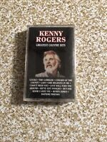 kenny rogers greatest Country Hits - cassette Tape NEW