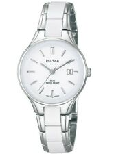 Pulsar Ladies White Ceramic & Stainless Steel Watch - PH7267X1 PNP