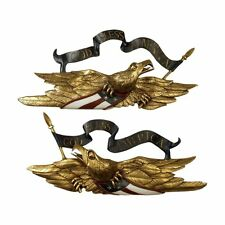 AA Importing 18839 Eagle Wall Plaque Pair (2 Piece Set)