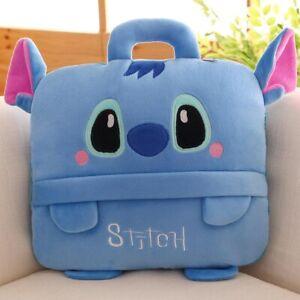 Disney cartoon plush pillow with blanket car cushion quilt kids plush toys