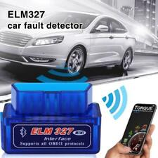 V2.1Bluetooth OBD2 Scanner Adapter Diagnostic Tool Automobile Fault Detector