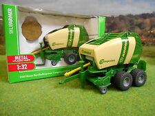 SIKU FARM KRONE V150XC ROUND BALER & BALES 2460 1/32 *BOXED & NEW*