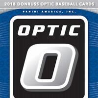 2018 Donruss Optic Base Variants Rookies All-Stars Diamond Kings Pick From List