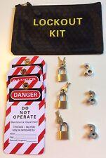 MCB Miniature Circuit Breaker Lockout / Lock Off Consumer Kit.