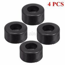 New listing 4pcs Large Case Speaker Cabinets Rubber Feet Damper Pad Base 38mm x 19mm Black