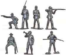 Marx Recast 60mm Civil War Warriors of the World Federals - 19 in 7 poses