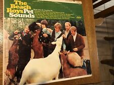 Beach Boys Pet Sounds 1st Press 1966 Mono Scranton Pressing Lp Vinyl