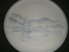 Coil Pottery Décor Plate, Ron Newsome, Dead Horse Pottery, Roanoke, AL