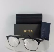 Brand New Authentic Dita Eyeglasses NOMAD DRX-2080-A-BLK-SLV Frame