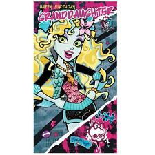Monster High Birthday Cards (Assorted)