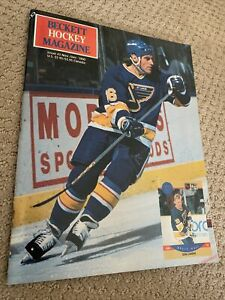 BRETT HULL Nov/Dec 1990 BECKETT Hockey Magazine Issue #2 MINT St. Louis Blues