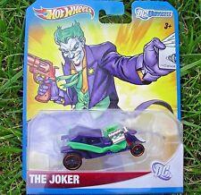 THE JOKER. W4517. 2011 Hot Wheels DC Universe.  New in Package!