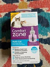 Comfort Zone Multi-Cat Diffuser Refill for Cats and Kittens-