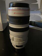 Canon EF 100-400mm f4.5-5.6L IS USM Telephoto Zoom Lens Hood, Caps, Case