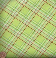 Sugar Hill green plaid Free Spirit Tanya Whelan fabric