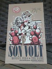 Son Volt Autographed Poster 2/6.06 The Dame in Lexington Jay Farrar Uncle Tupelo