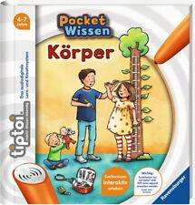 Ravensburger tiptoi Buch Pocket Wissen Körper 00010