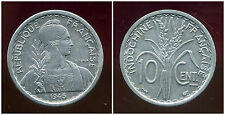 INDOCHINE  10  cent 1945   (  SUP  )